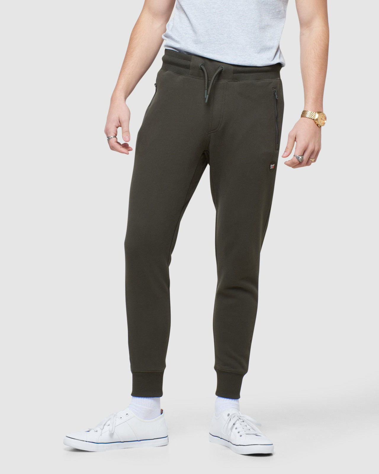 Superdry Mens COLLECTIVE JOGGER Grey Joggers 0