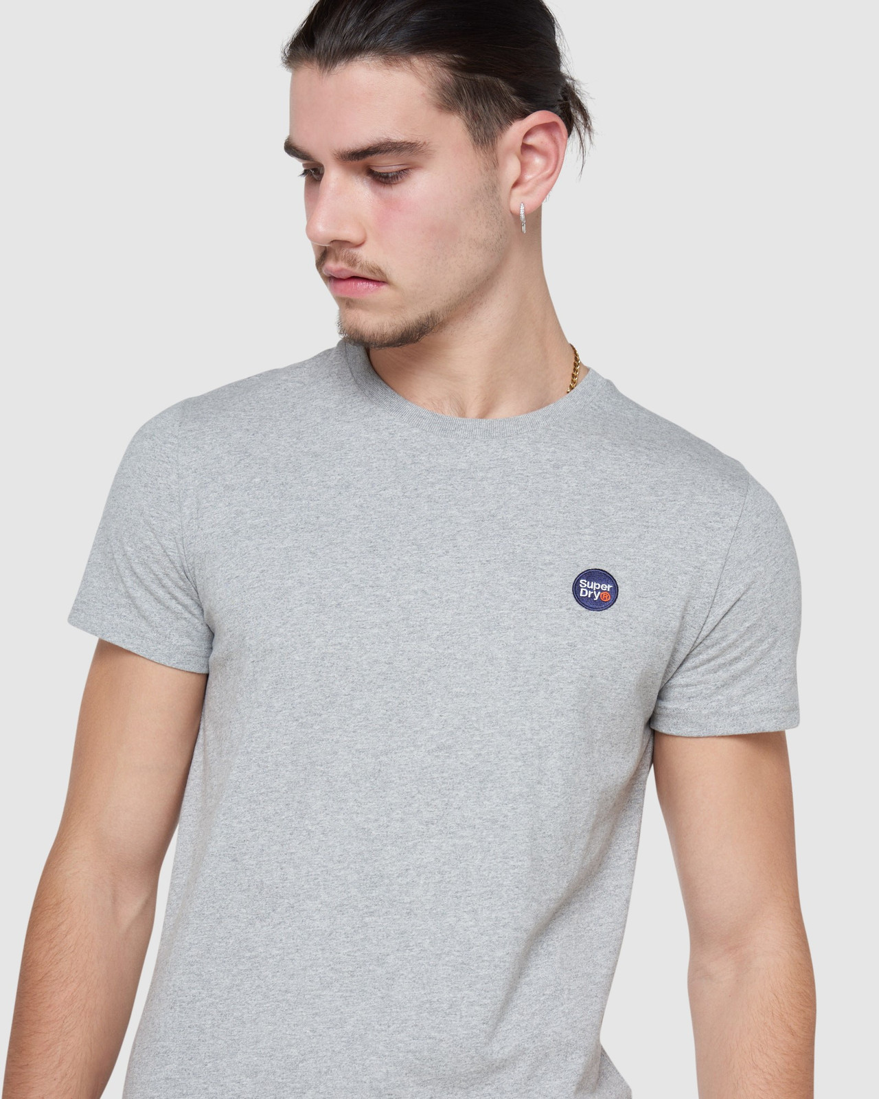 Superdry Mens COLLECTIVE TEE Grey Plain 4