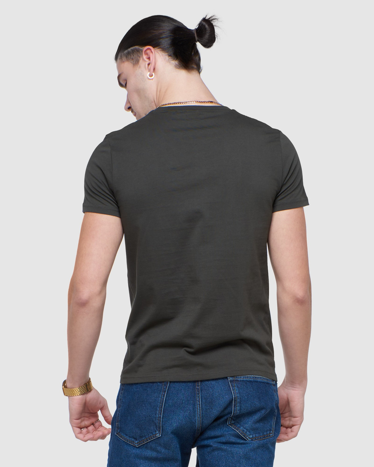 Superdry Mens COLLECTIVE TEE Grey Plain 3