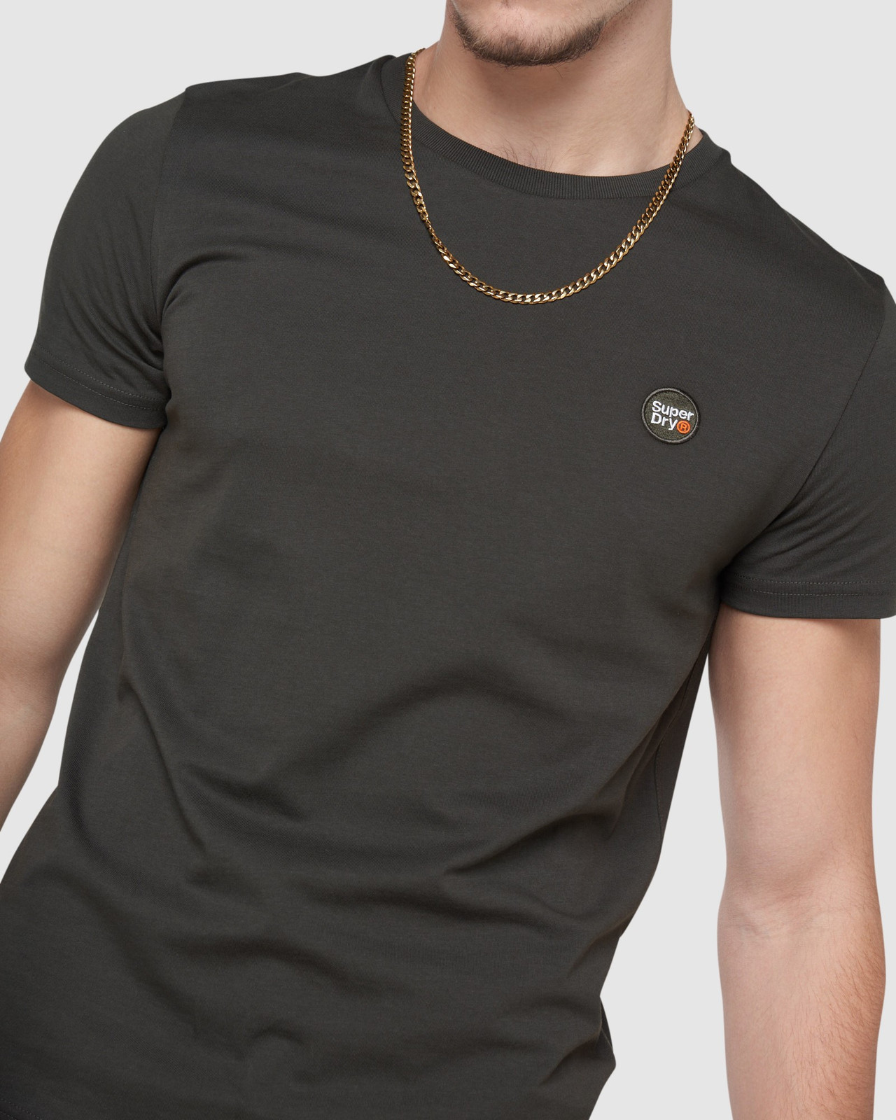 Superdry Mens COLLECTIVE TEE Grey Plain 5