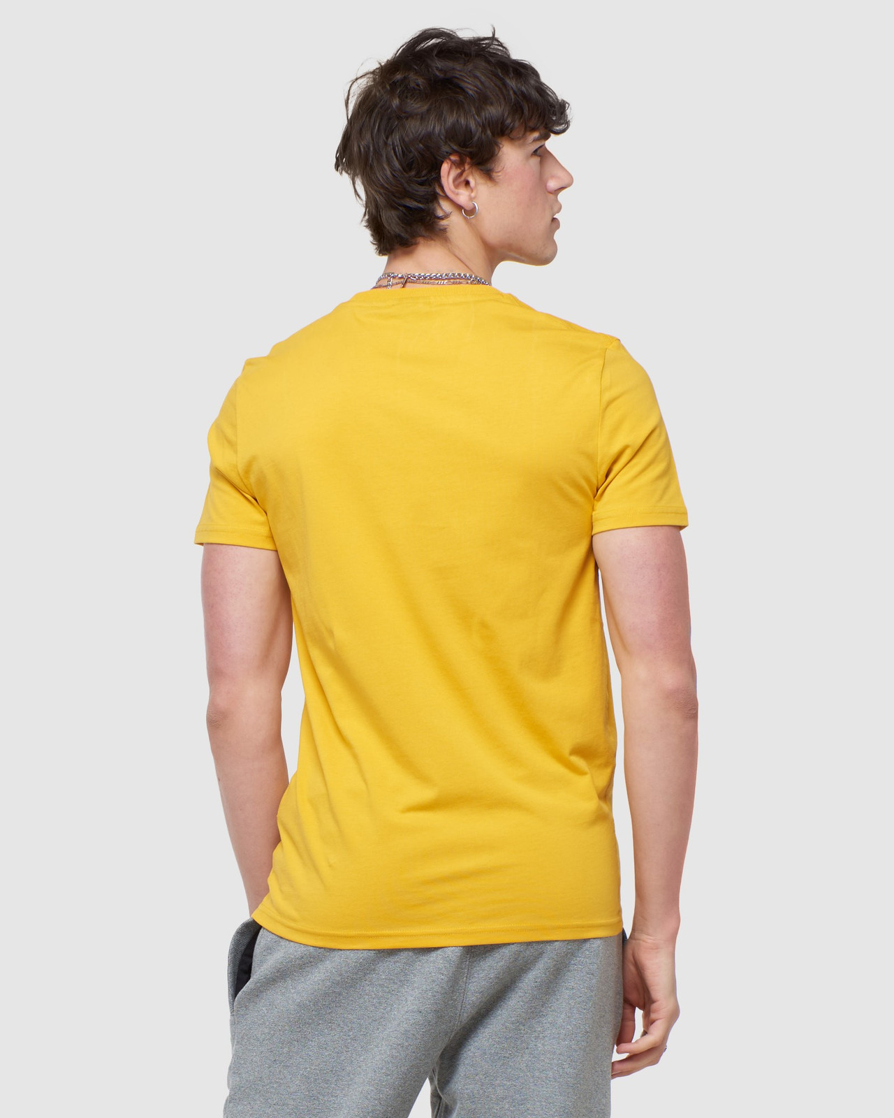 Superdry Mens COLLECTIVE TEE Yellow Plain 3