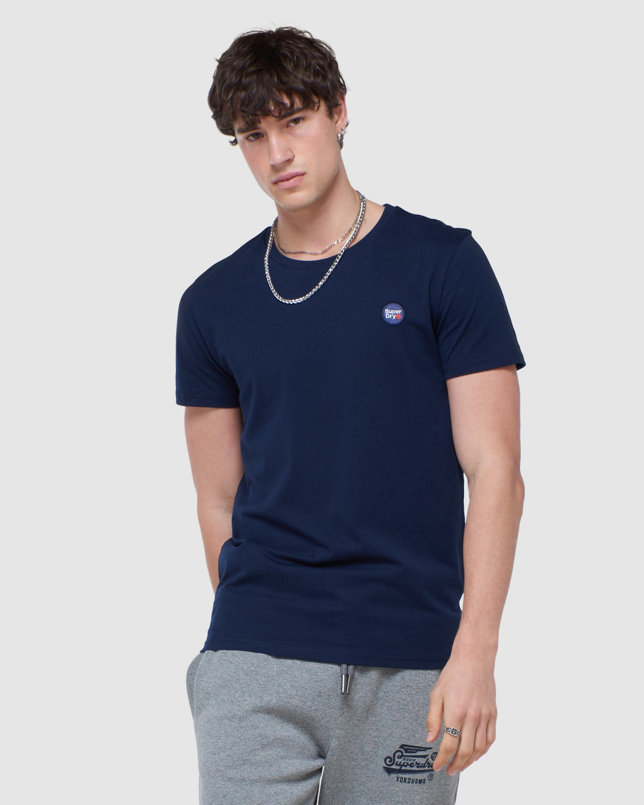 Superdry Mens COLLECTIVE TEE Navy Plain 0