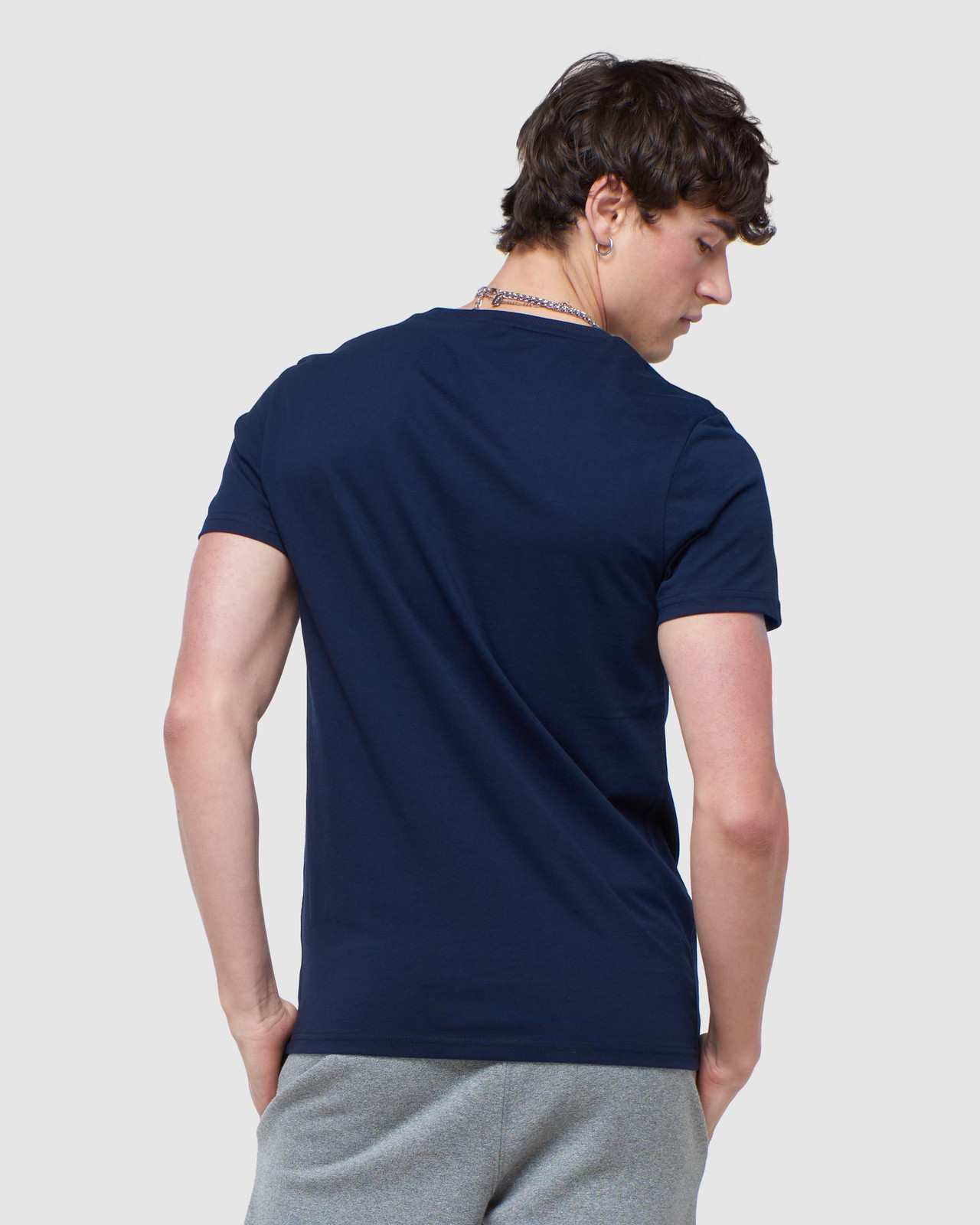 Superdry Mens COLLECTIVE TEE Navy Plain 3