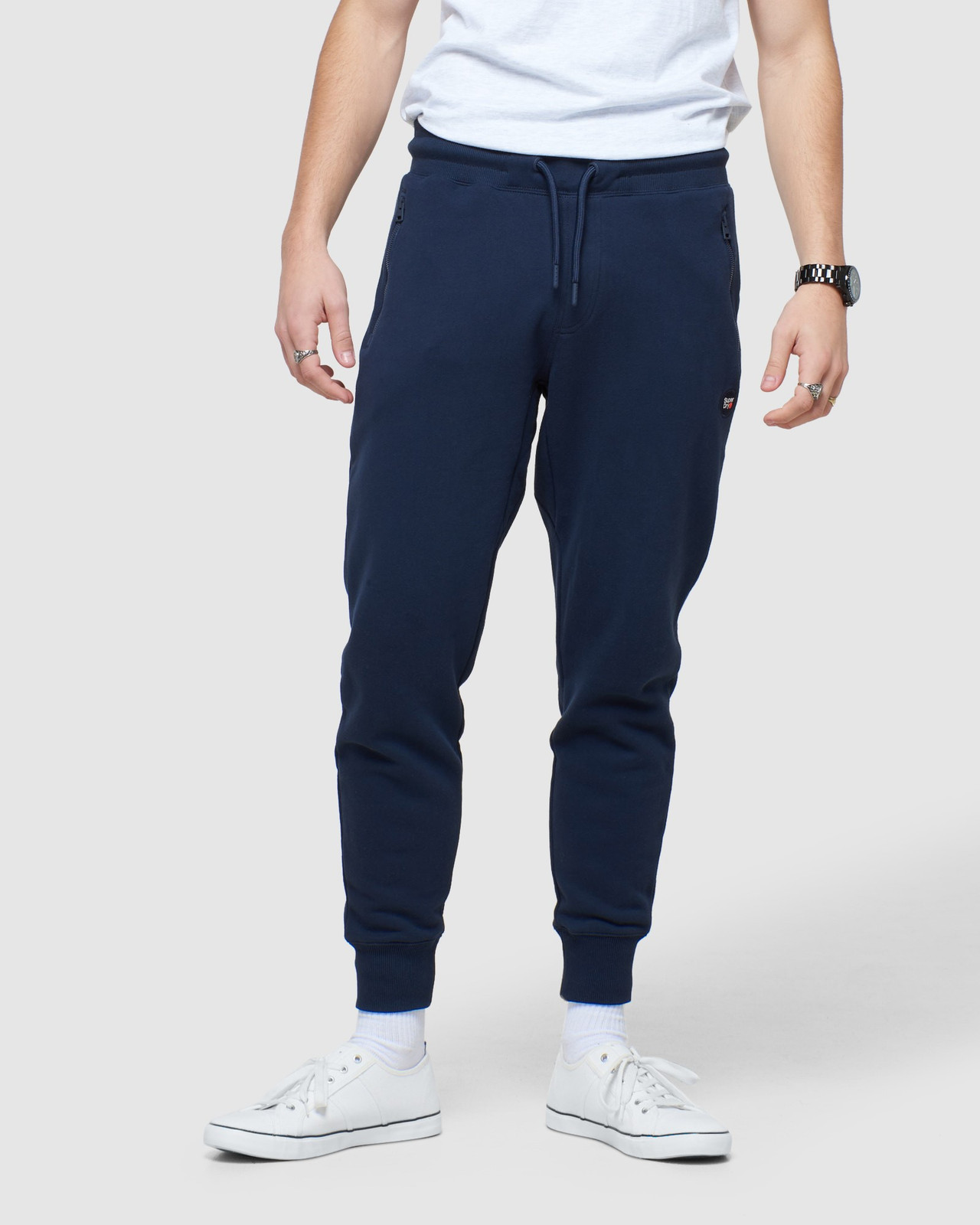 Superdry Mens COLLECTIVE JOGGER Navy Joggers 0