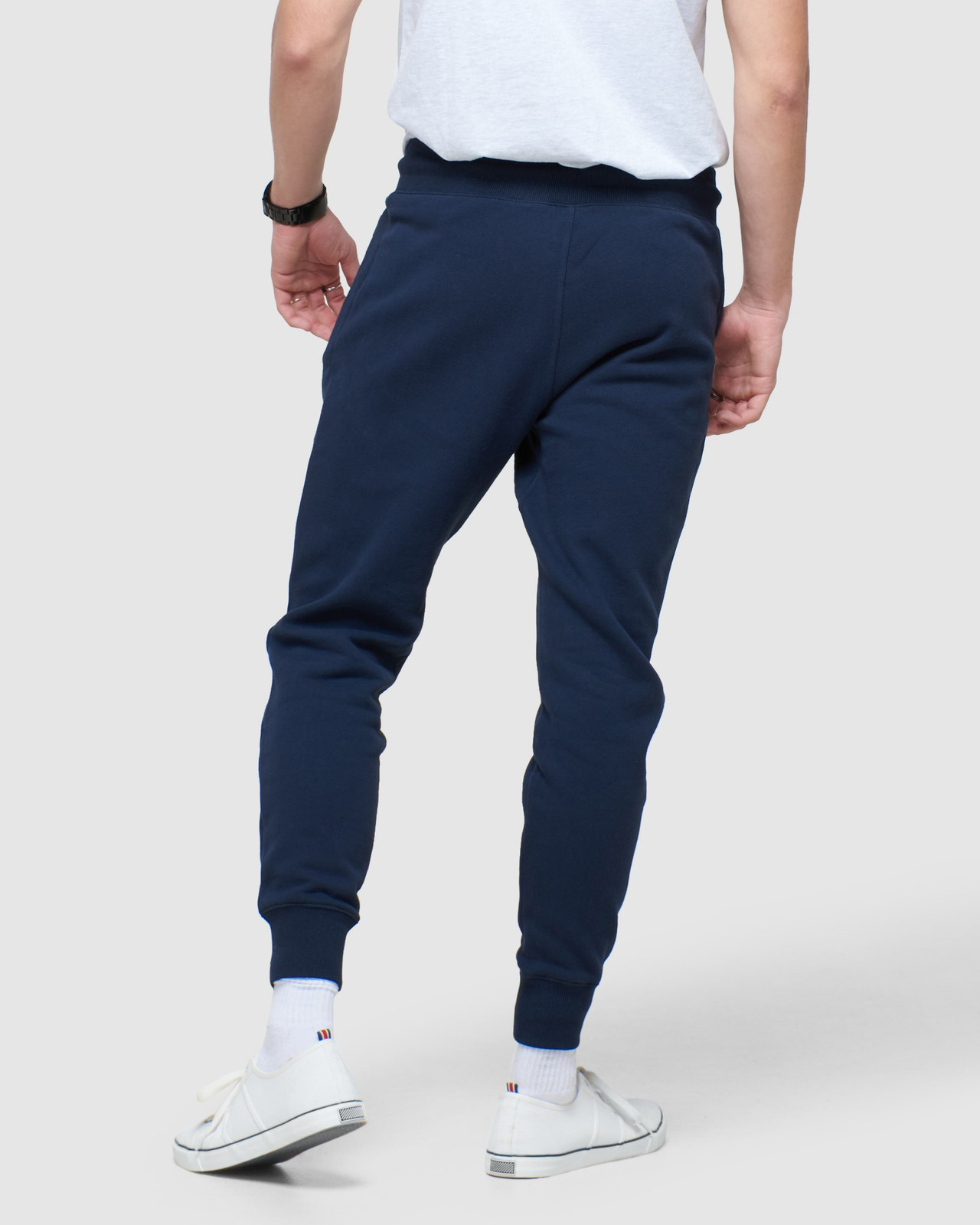 Superdry Mens COLLECTIVE JOGGER Navy Joggers 3