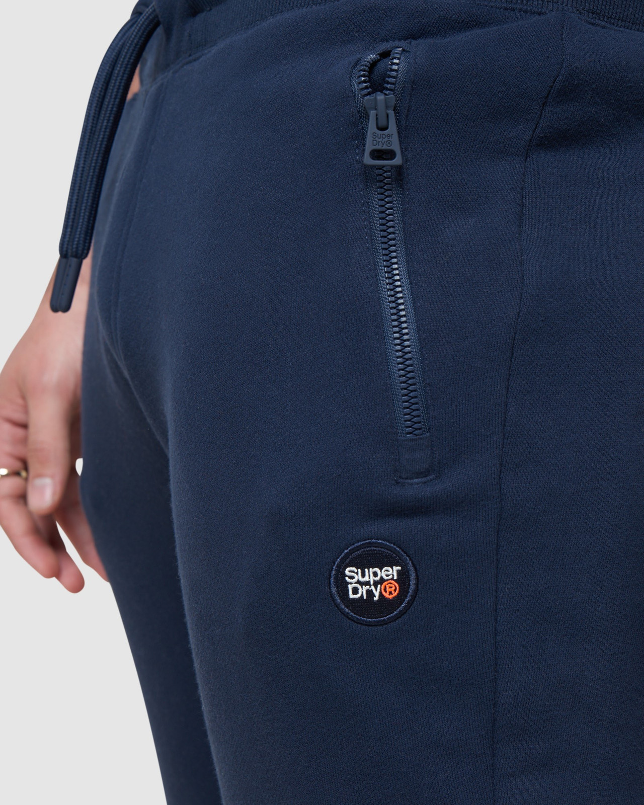 Superdry Mens COLLECTIVE JOGGER Navy Joggers 4
