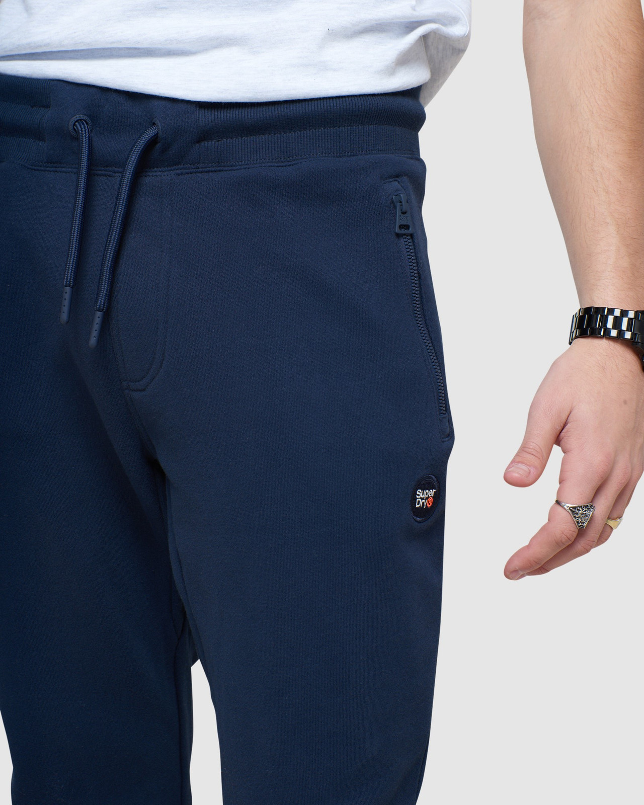 Superdry Mens COLLECTIVE JOGGER Navy Joggers 5