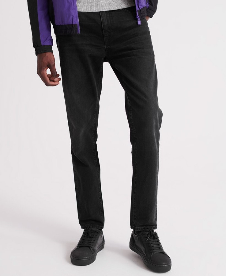 Superdry Conor Taper Nash Worn Black