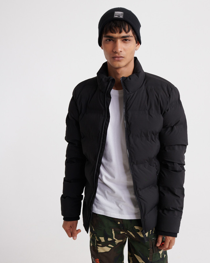 Superdry Ultimate Radar Quilt Puffer Black