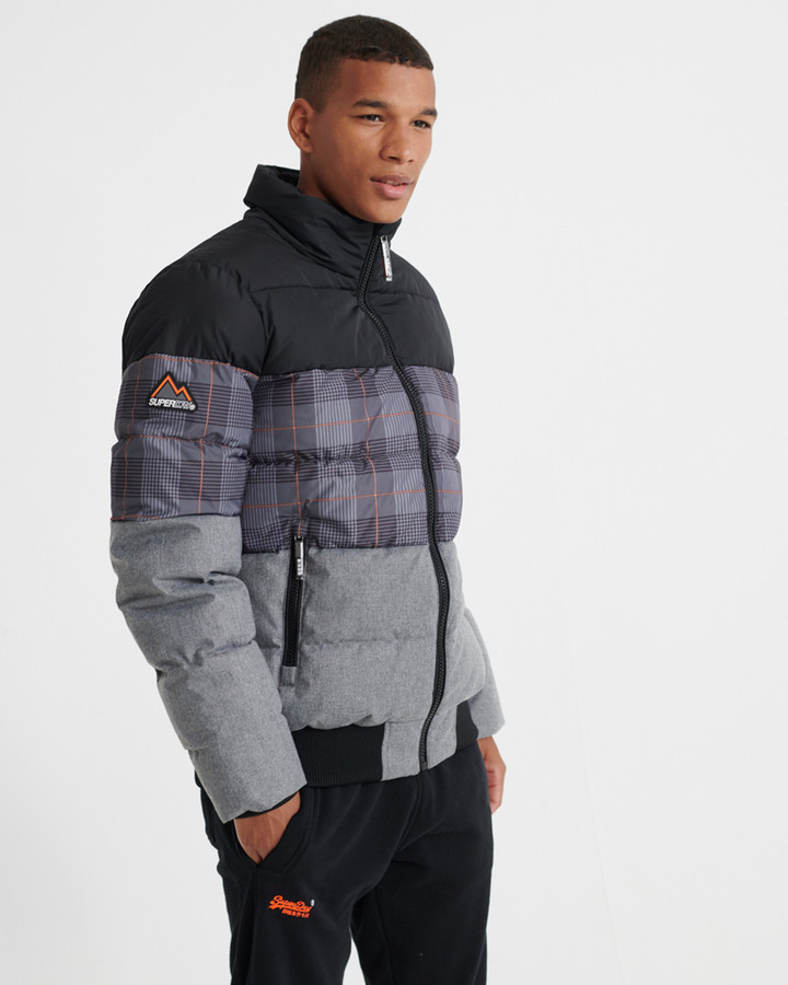 Superdry Track Sports Puffer Jet Black