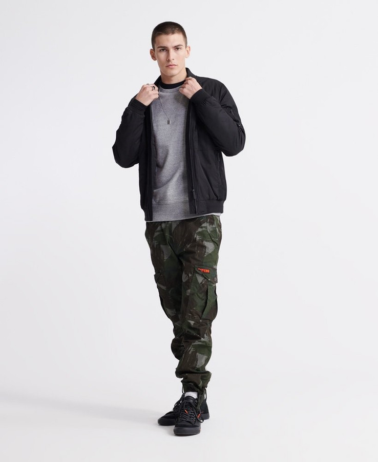Superdry Collective Crew Collective Dark Grey Grit