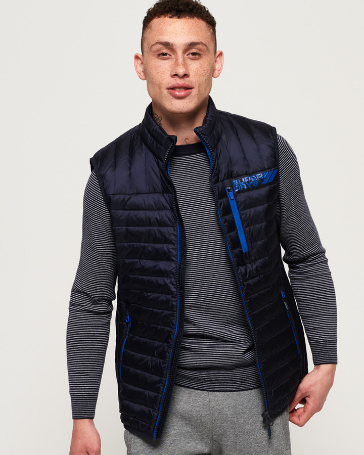 Superdry Core Down Gilet Ink