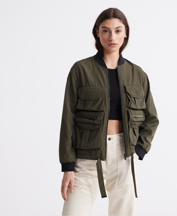 Superdry Namid Pockets Bomber Bungee Cord
