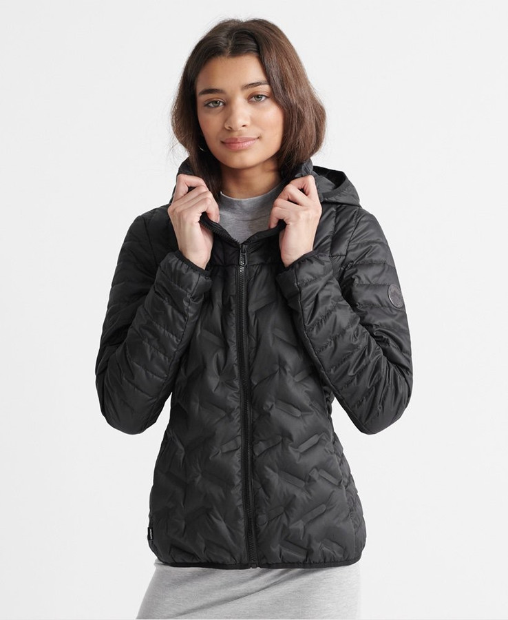 Superdry Radar Down Jacket Black
