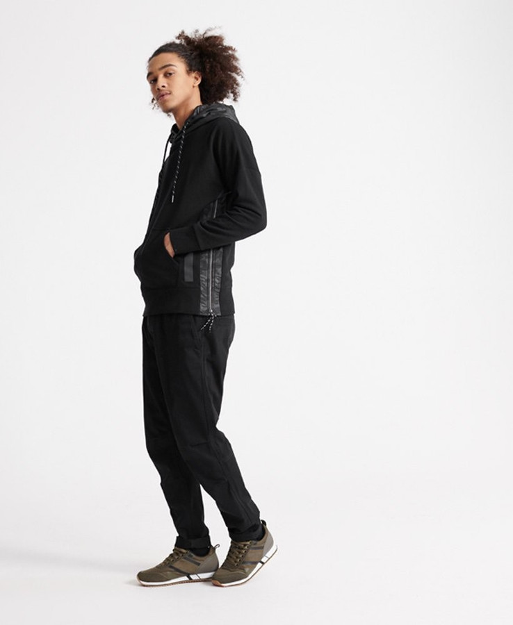 Superdry Surplus Goods Panel Hood Black