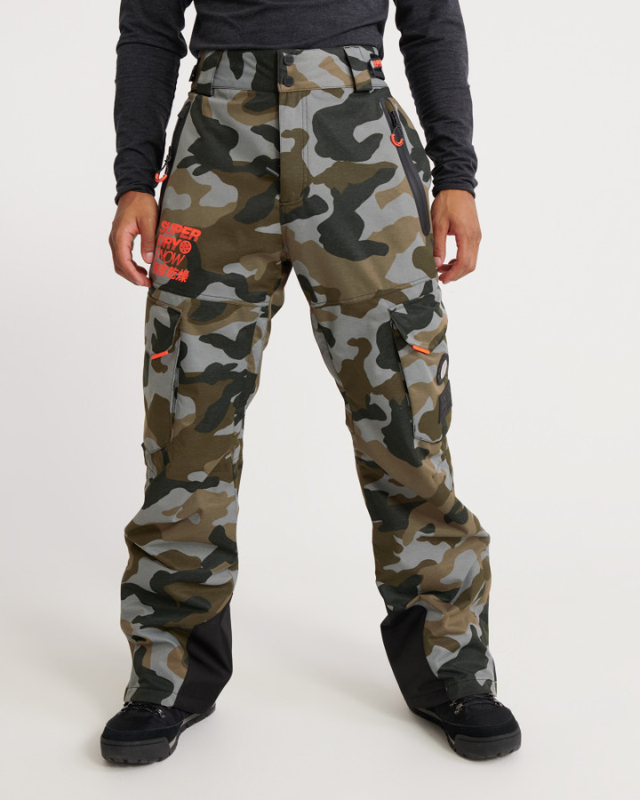 Superdry Ultimate Snow Rescue Pant Rock Camo
