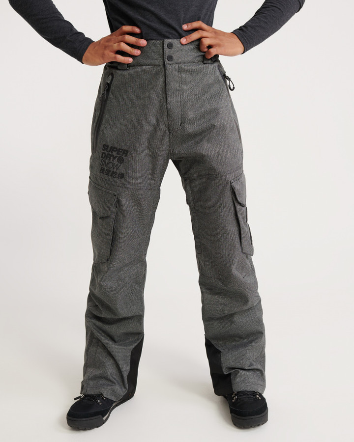 Superdry Ultimate Snow Rescue Pant Black Tex Rock