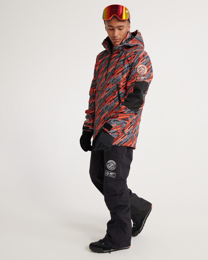 Superdry Sd Mountain Snow Pant Onyx Black