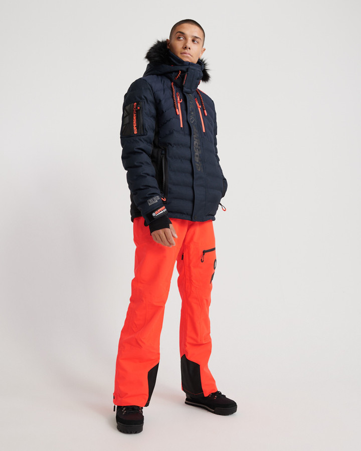 Superdry Sd Pro Racer Rescue Pant Volcanic Orange