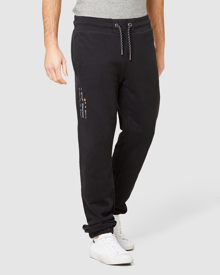 Superdry Trophy Embroidery Jogger Black