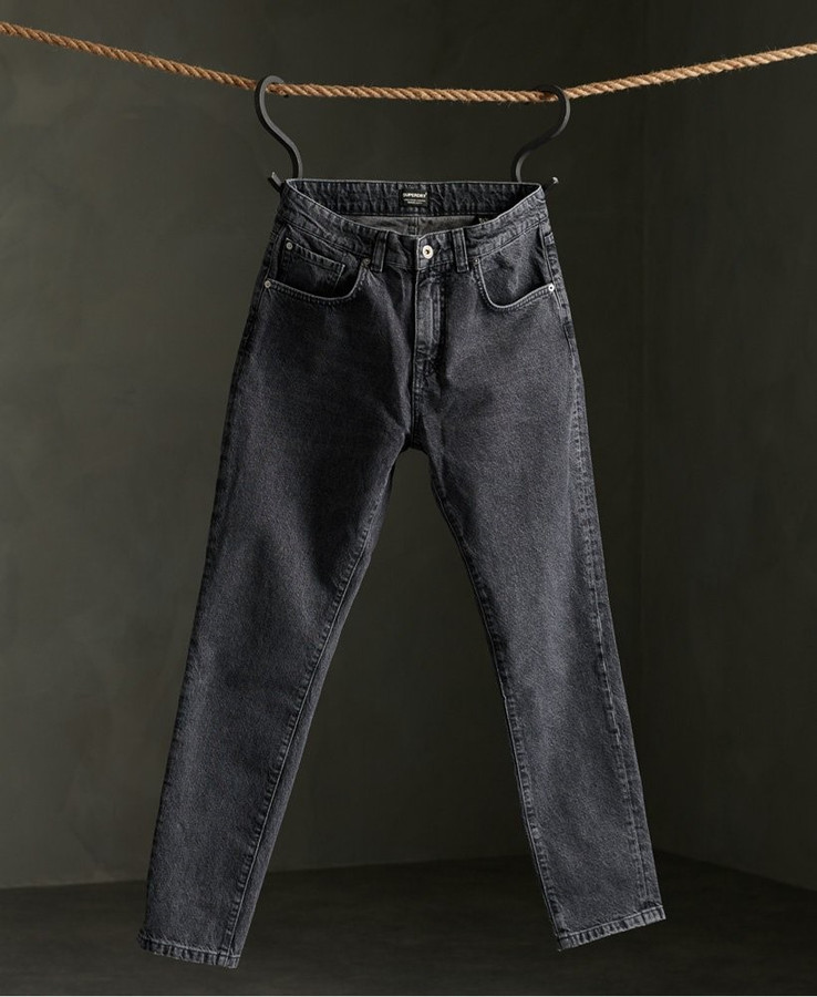 Superdry 05 Conor Taper Barone Stone Black 32