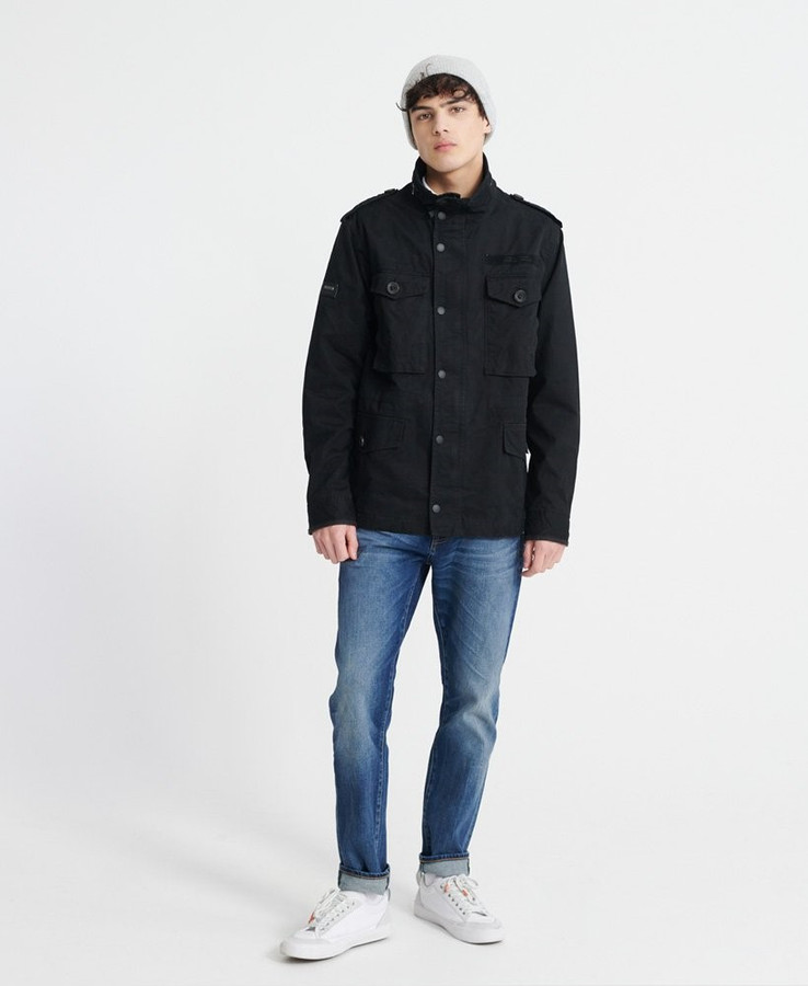 Superdry Field Jacket Jet Black