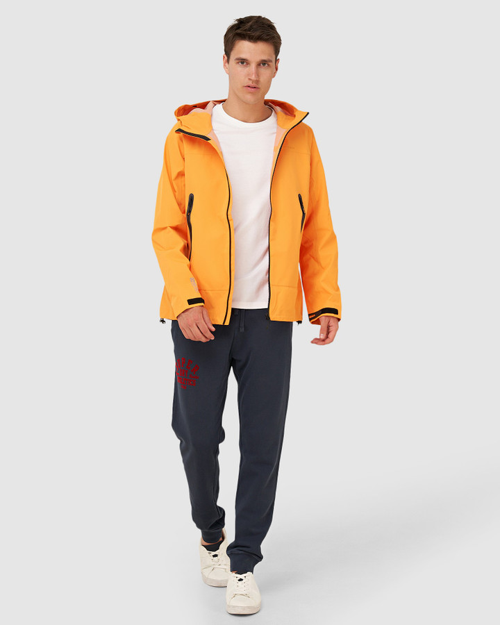 Superdry Hydrotech Waterproof Jacket Nautical Gold