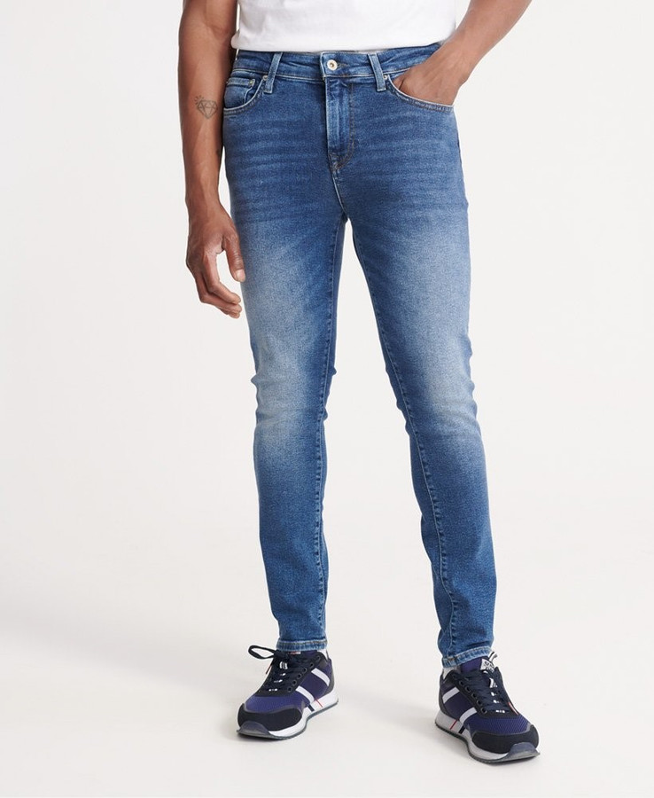 Superdry Skinny Henderson Dark Blue