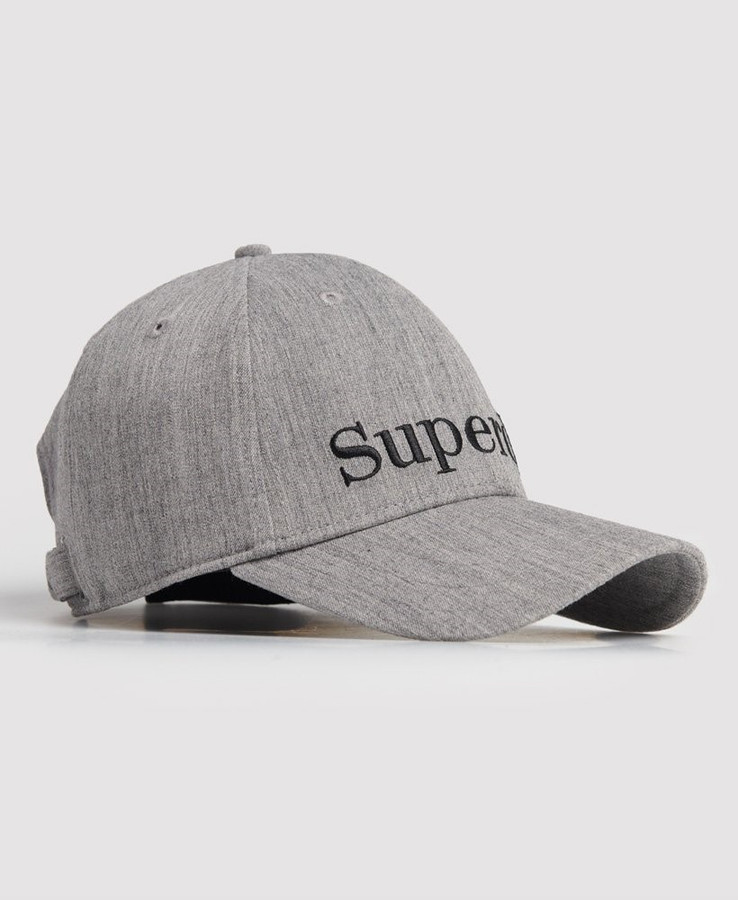 Superdry Embroidery Cap Grey Marle