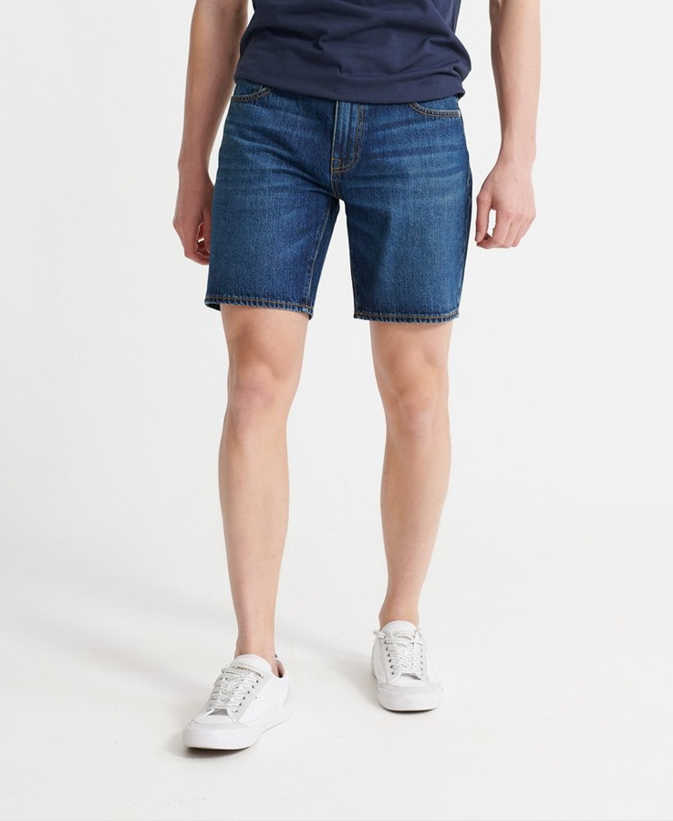 Superdry 05 Conor Taper Short Abernathy Dark Blue