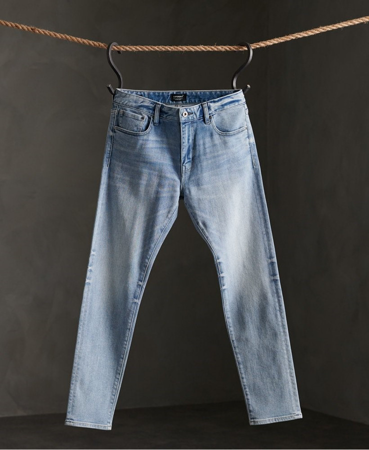 Superdry Slim Hardin Vintage Blue 32