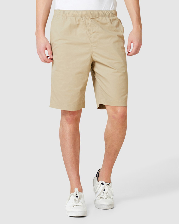 Superdry Worldwide Chino Short Grain Khaki
