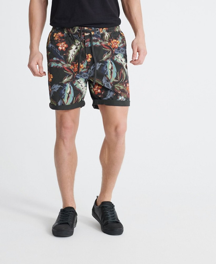 Superdry Sunscorched Chino Short Charcoal Hawaiian