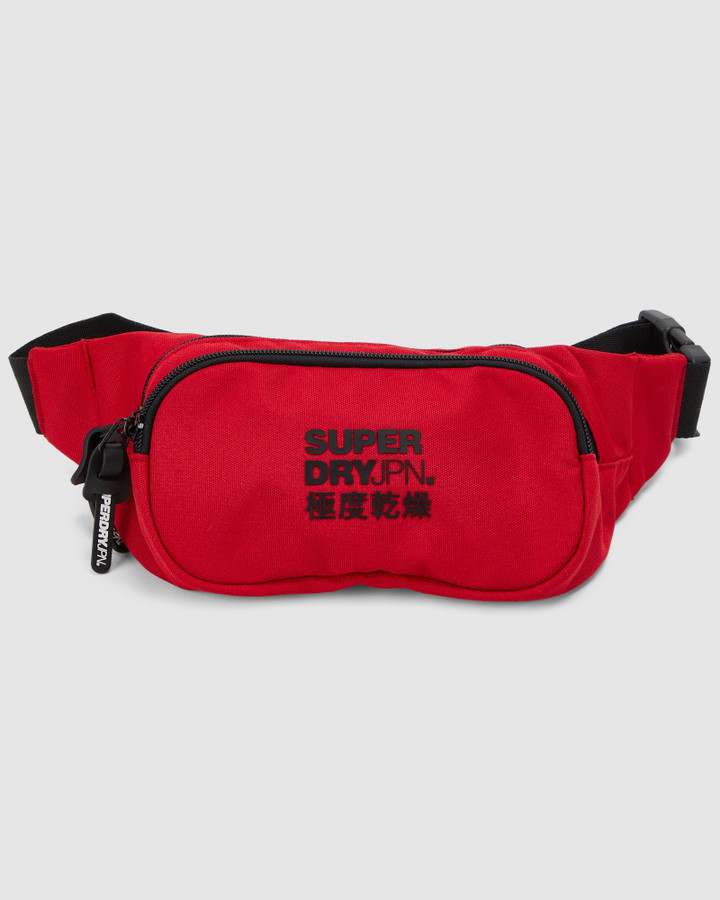Superdry Small Bumbag Rouge Red