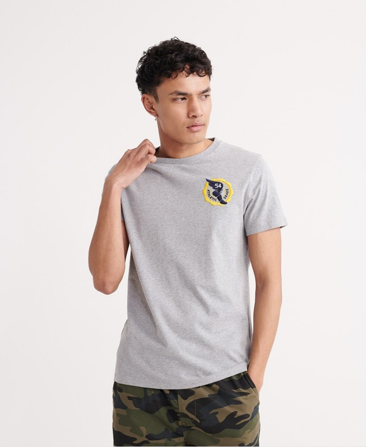 Superdry Dry Goods Authentic Tee Grey Marle