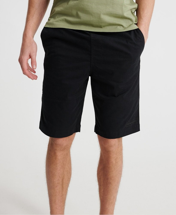 Superdry Worldwide Chino Short Black
