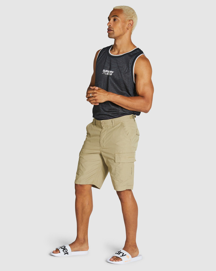 Superdry Field Cargo Short Army Sand