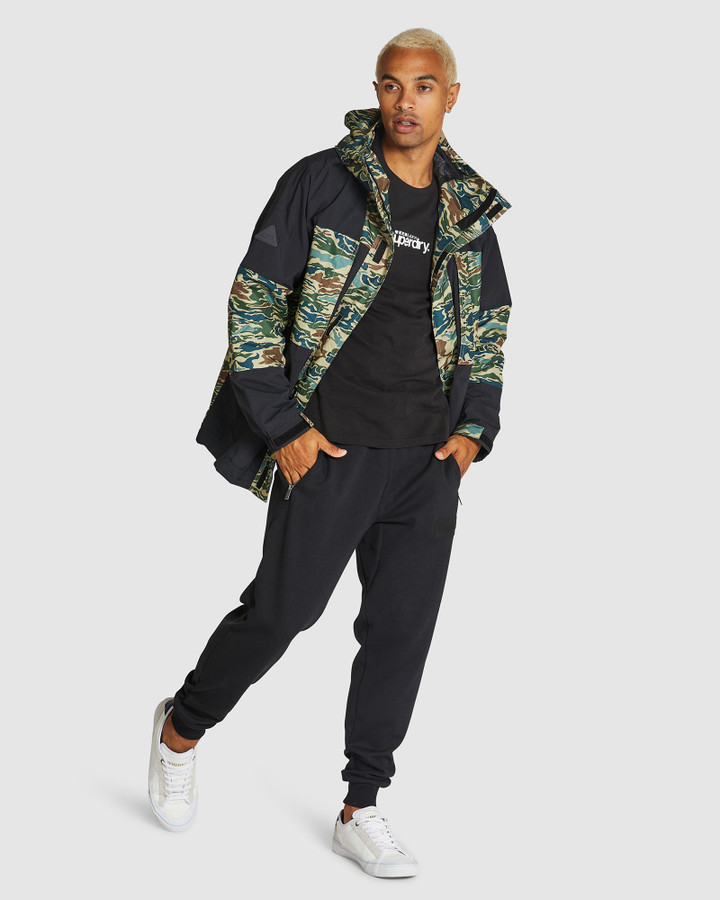 Superdry Jungle Mountaineer Jacket Marble Camo