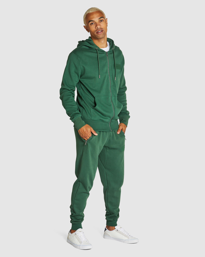 Superdry Core Logo Tonal Ziphood Forest Pine