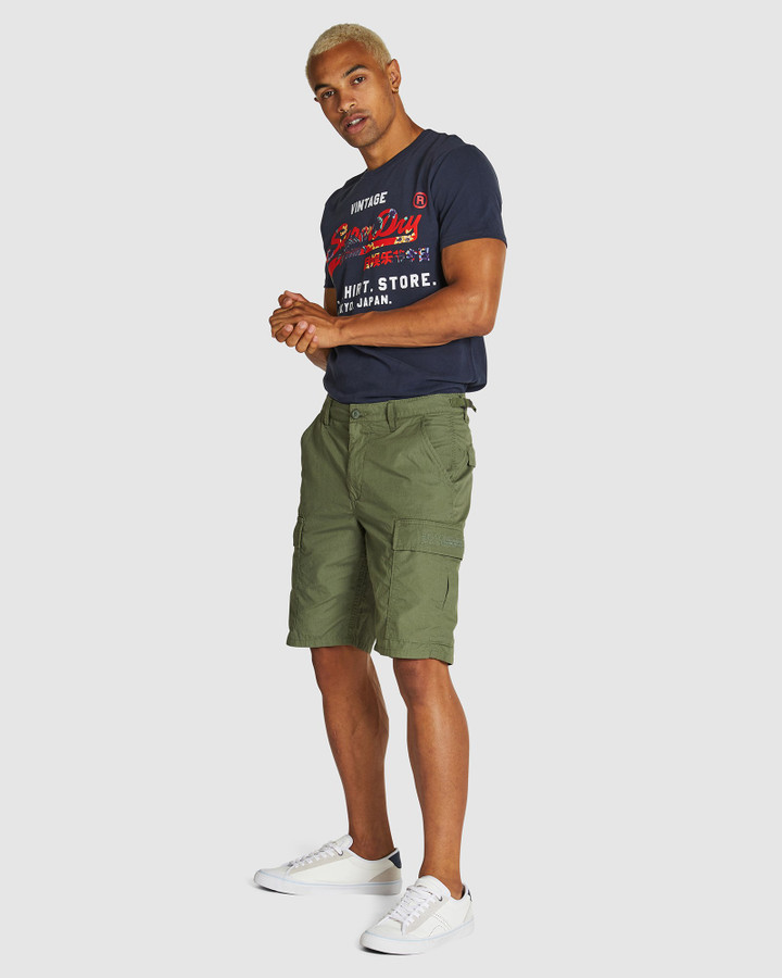 Superdry Field Cargo Short Sage