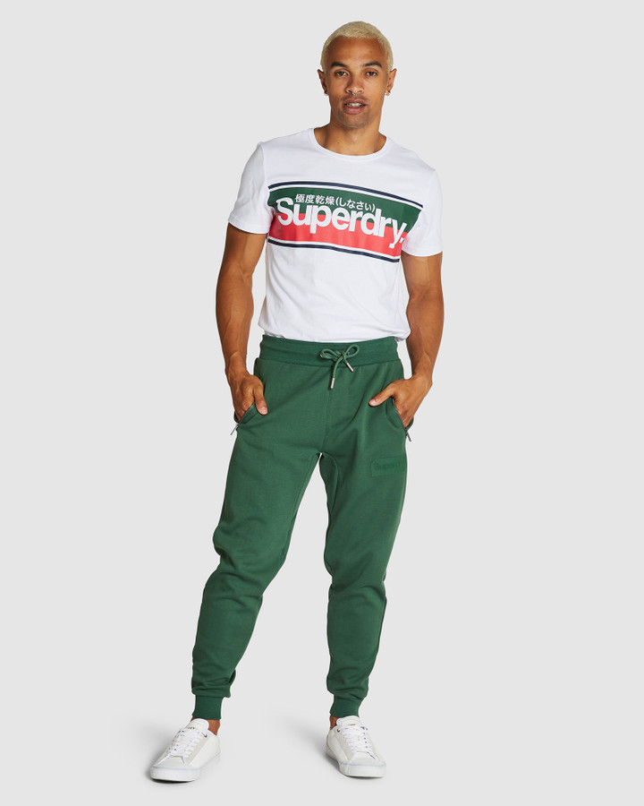Superdry Core Logo Tonal Jogger Forest 32