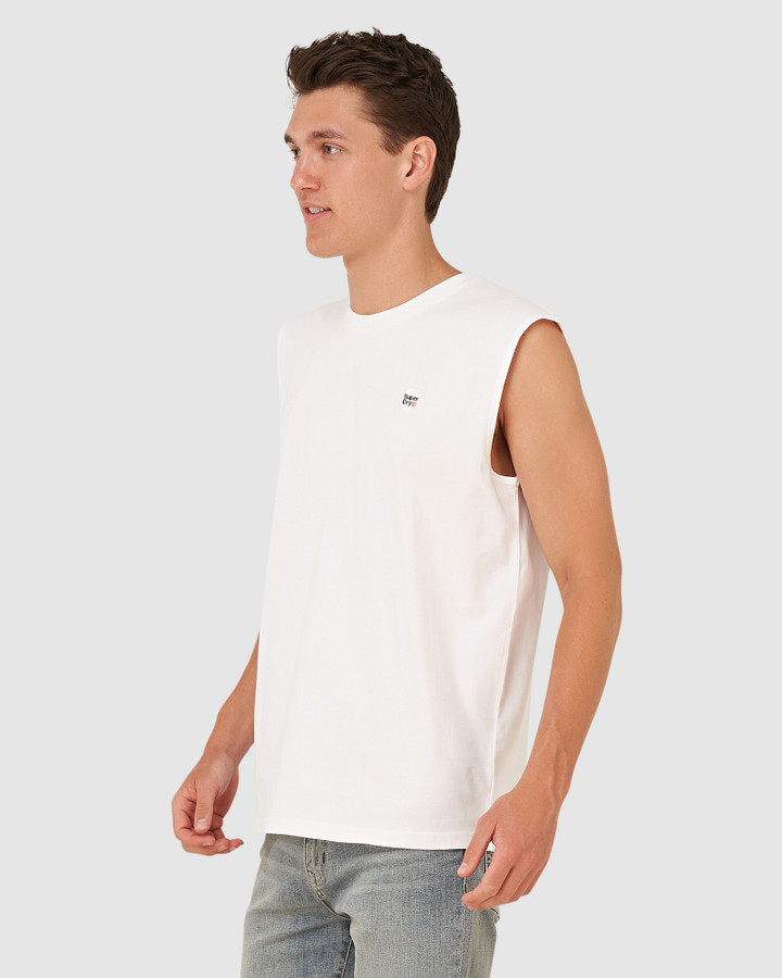Superdry Collective Oversized Vest Optic