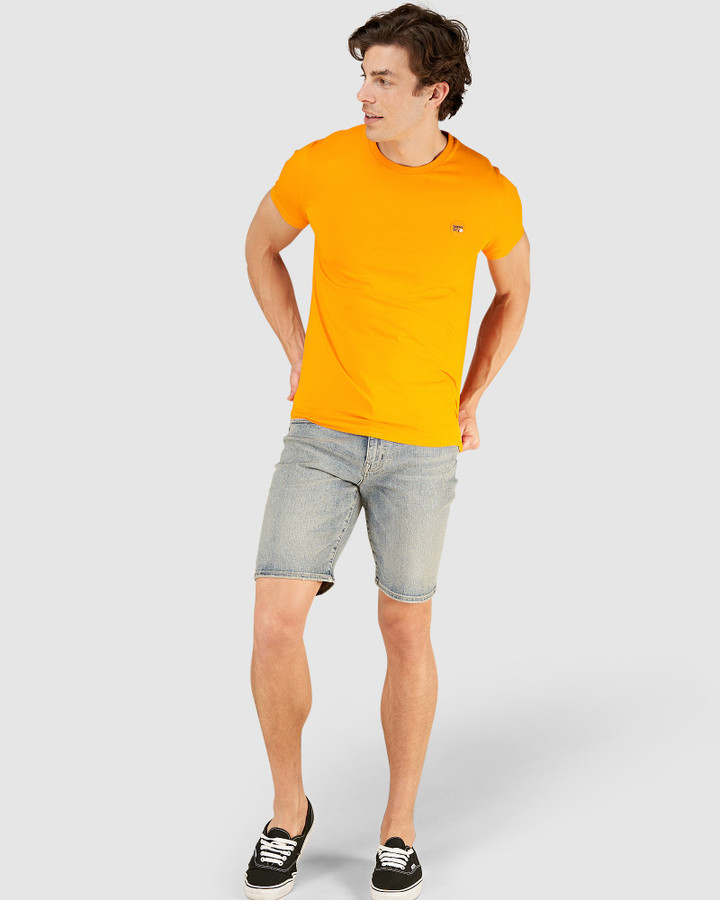 Superdry Collective Tee. Marigold