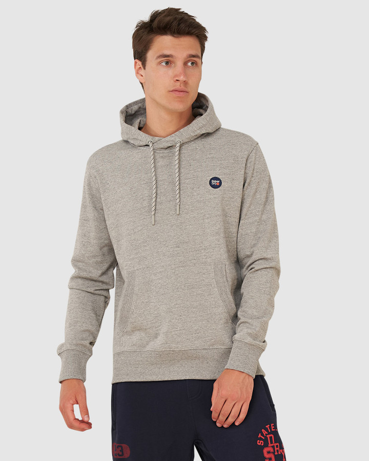 Superdry Collective Hood Collective Dark Grey Grit