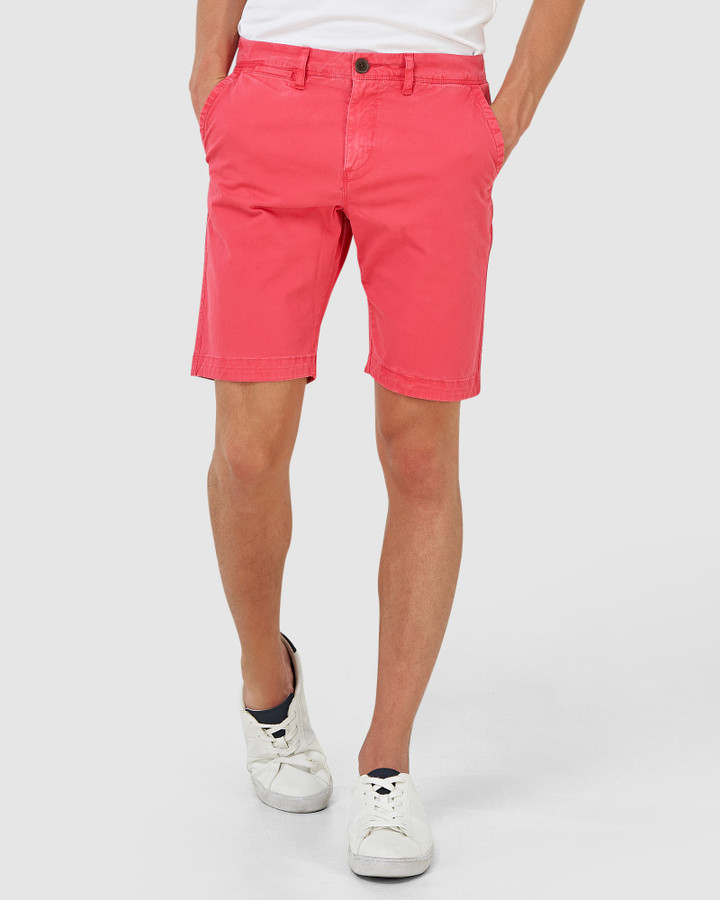 Superdry International Chino Short Maldive Pink