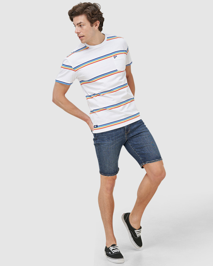 Superdry 02 Tyler Slim Short Fermont Dark Blue