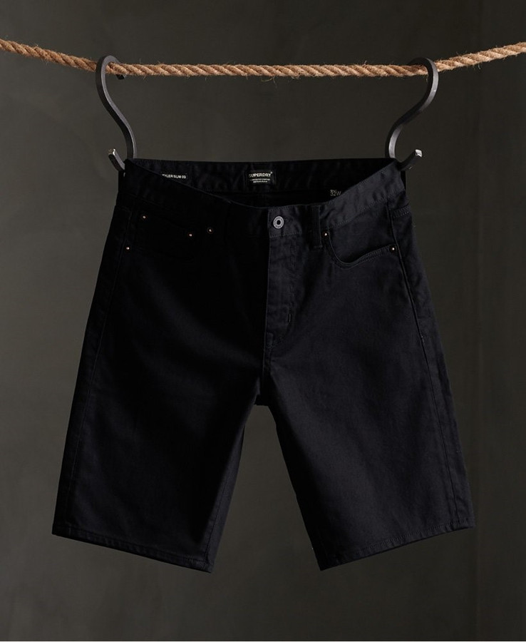 Superdry 02 Tyler Slim Short Jet Black