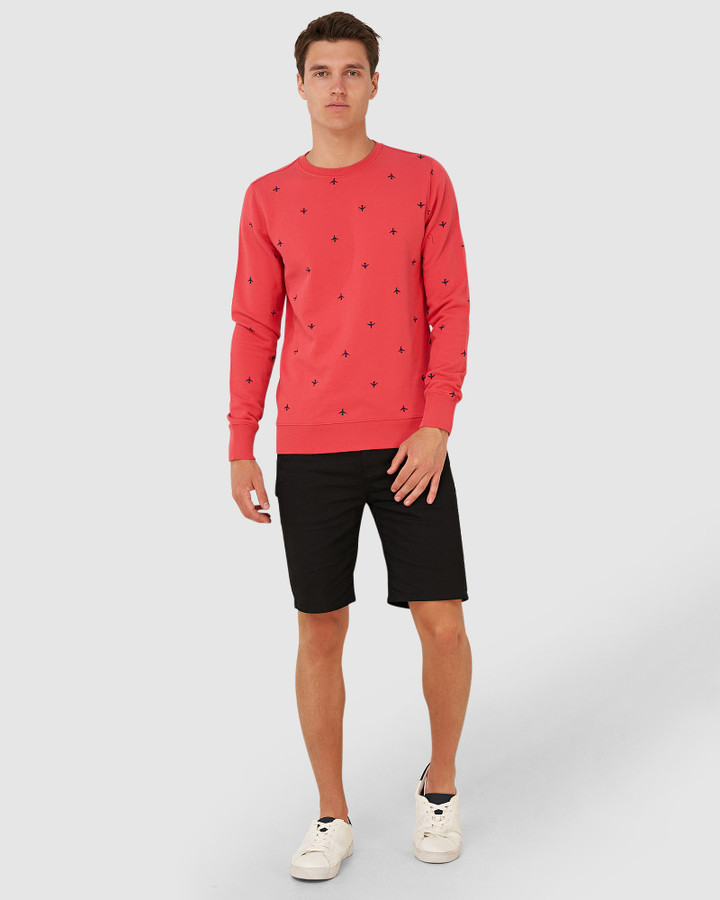 Superdry Aoe Crew Maldive Pink