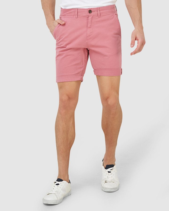 Superdry International Short Canyon Pink