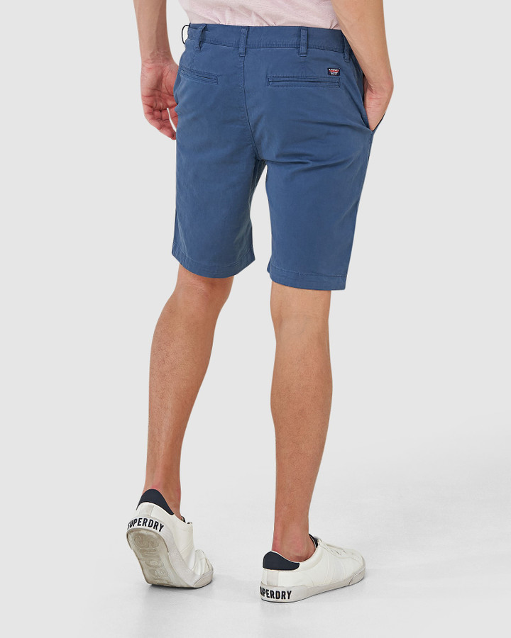 Superdry International Short Ensign Blue